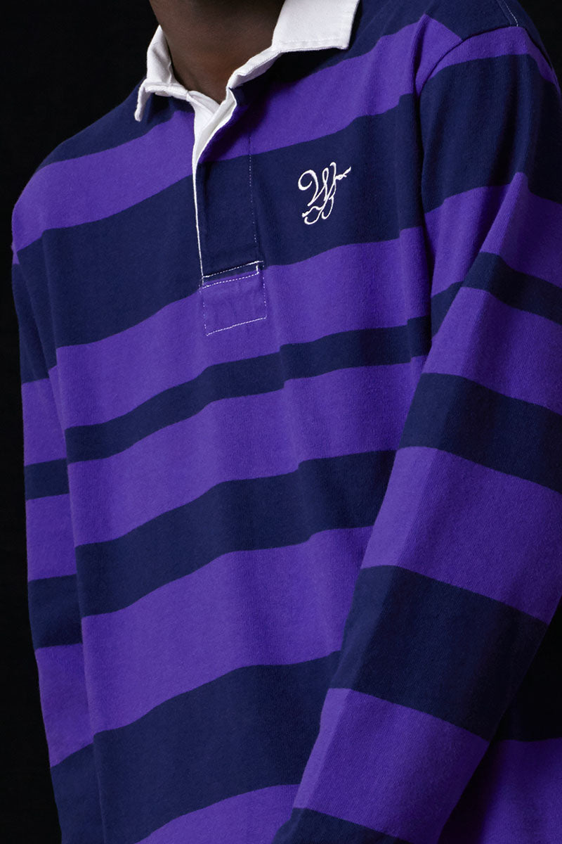 Embroidered Rugby Polo