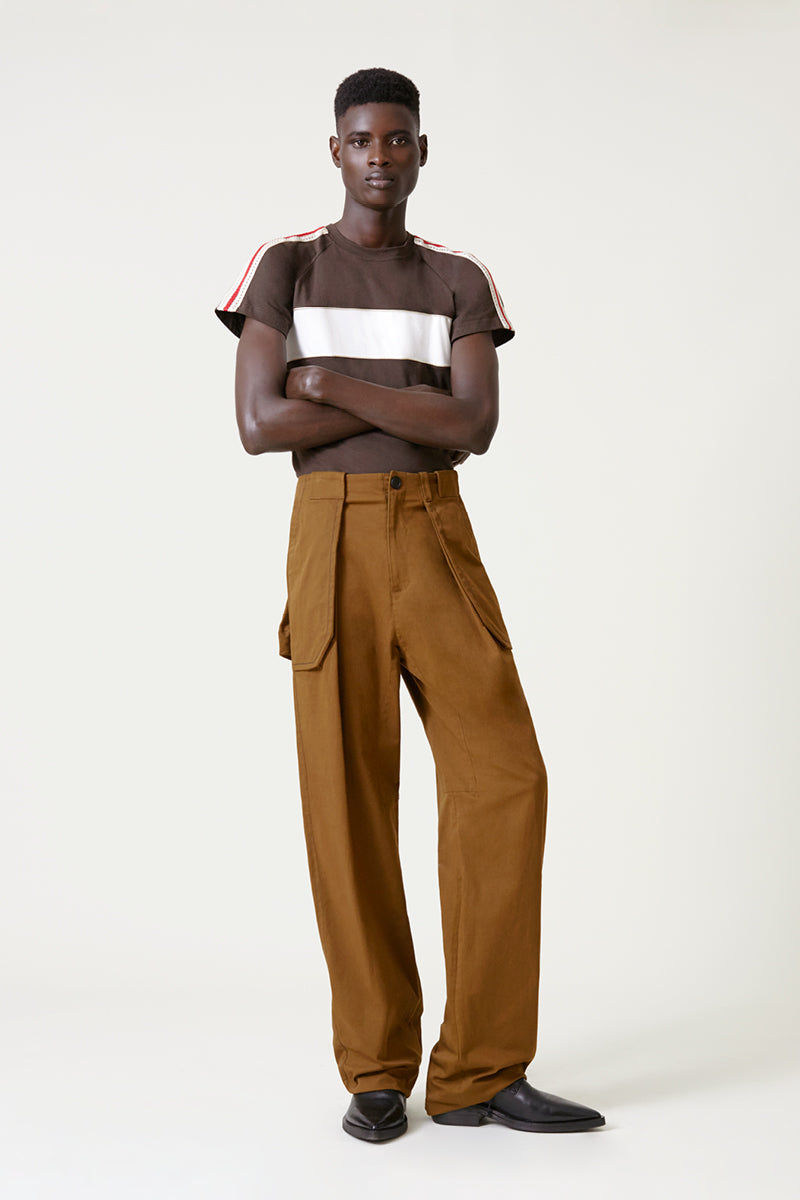 Jose Wide Leg Cargo Trousers