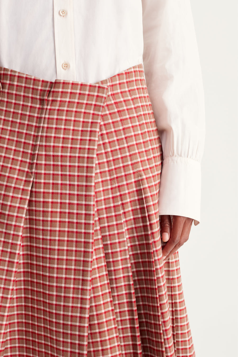 Lovers Rock Pleated Skirt