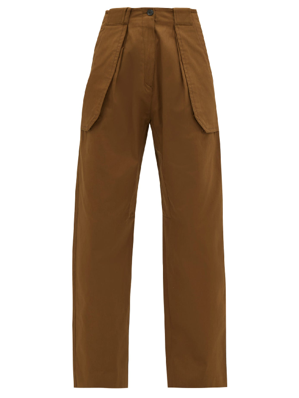 Womens Jose Wide Leg Cargo Trousers