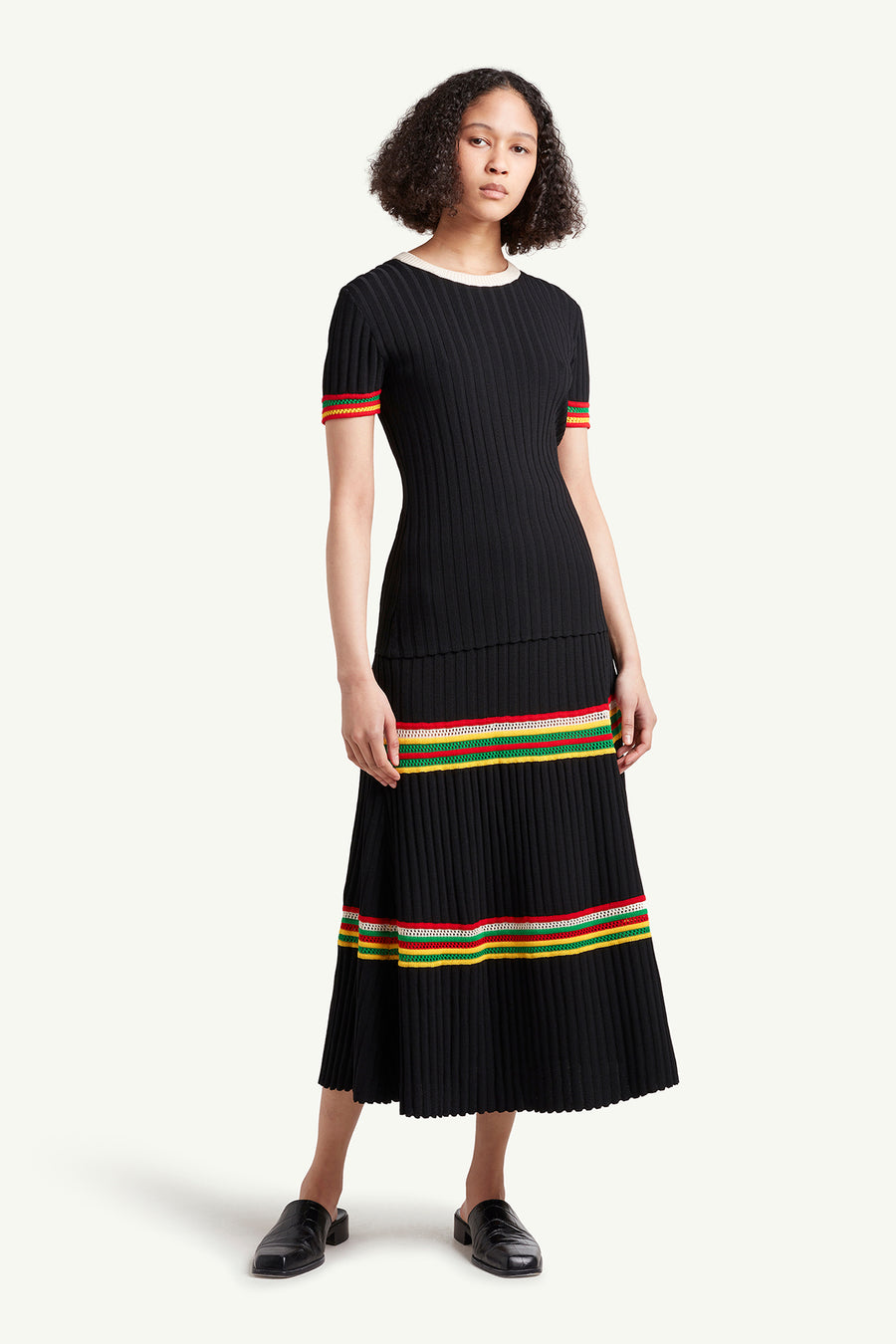 Saint Ann Ribbed Skirt