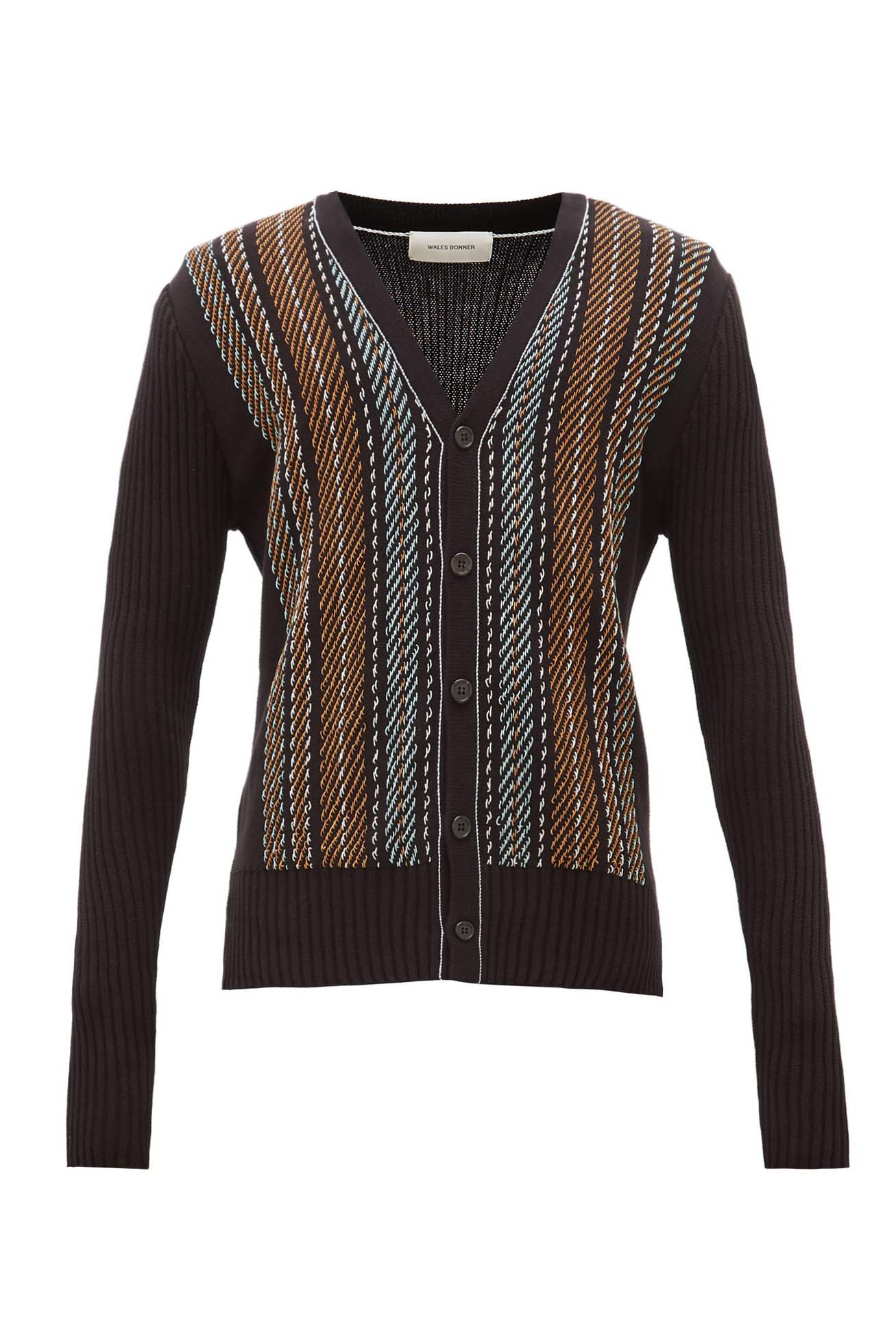 Oraa Embroidered Cardigan