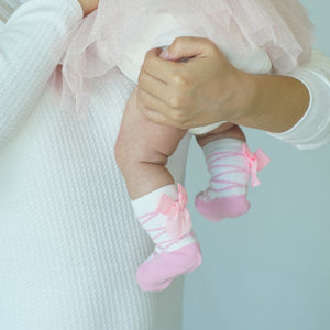 Ballerina Baby Socks - Assorted - Style: 2713