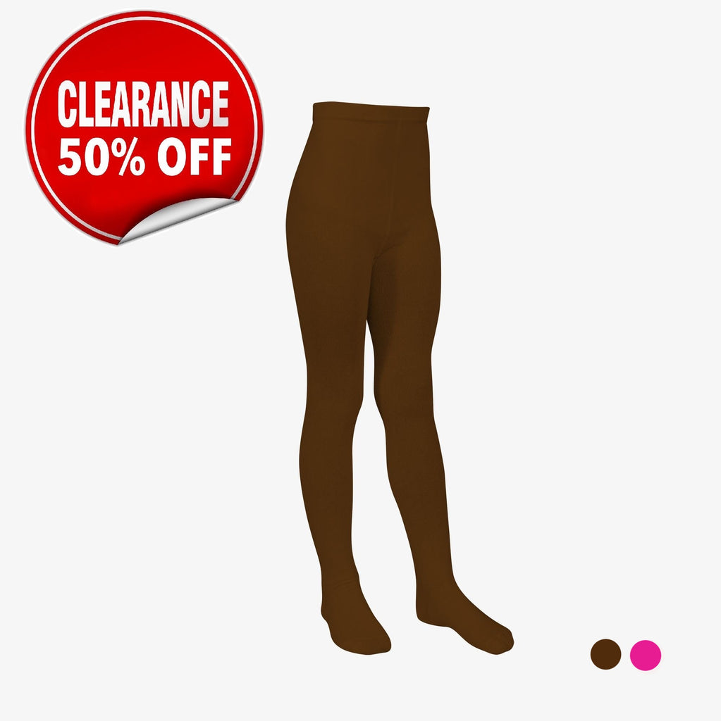 Winter Tights - Style: 7002 - Brown - CLEARANCE