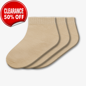 CLEARANCE - Pair Quarter Socks – Style: 613