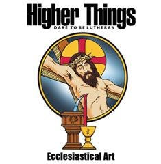 Higher Things Ecclesiastical Art by Ed Riojas