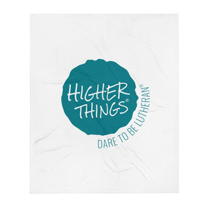 Higher Things Throw Blanket