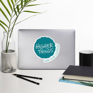 Higher Things Ink Blot Sticker