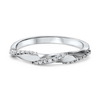 10K White Mixable Ring