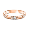 10K Rose Gold Mixable Ring
