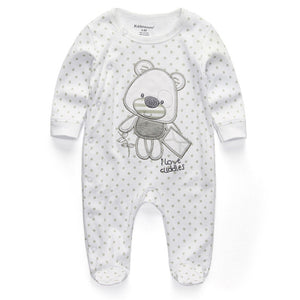 2019 baby clothes Full Sleeve cotton infantis baby clothing romper cartoon costume ropa bebe 3 6 9 12 M newborn boy girl clothes