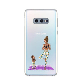 Phone Cases For Samsung Galaxy S5 S6 S7 Edge S8 S9 Plus S10 S10E S10 Plus