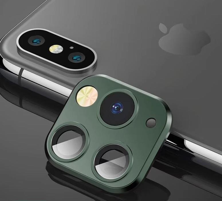 Protector For iPhone 11 Pro Camera Fake Modified Lens Protector For iPhone XR 10 X XS MAX Fake Camera Sticker Module