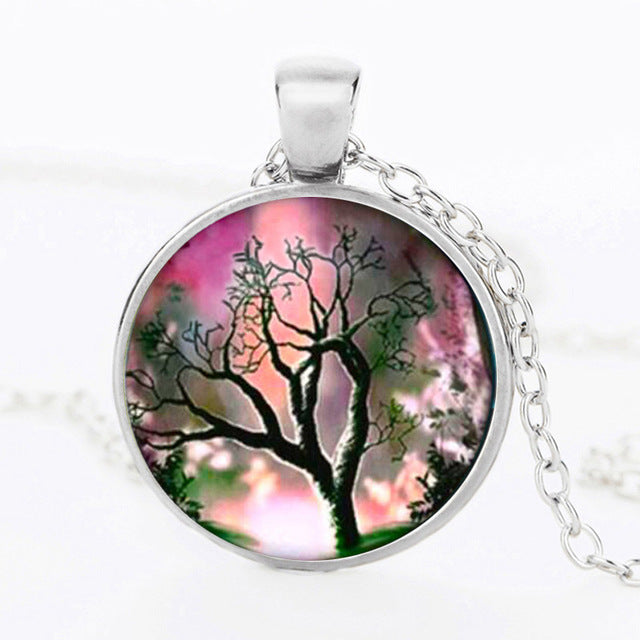 Tree Of Life Statement Necklace