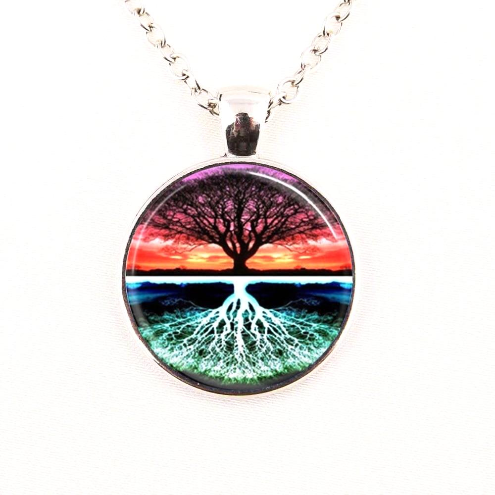 Tree of Life Sunset Nature Art Green Nature
