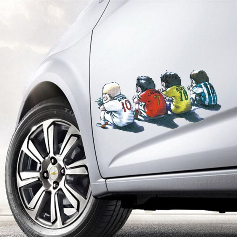 23*11CM fashion car accessories side door stickers