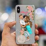 Baby Mom Girl Queen Case For iPhone X XS Max XR 8 7 6 6s Plus 5 5s SE 5C Silicone Woman Phone Cover