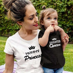 2019 New family matching clothes T shirt Women son daughter mum T shirt tops kids baby girl boys casual T shirt Outfits