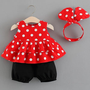 Baby Girls Newborn Dress Clothes New Cute Bowknot Lace Sleeveless