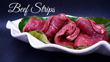 Load image into Gallery viewer, Angus Beef Strips (GFF & FREE RANGE)