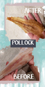 Pollock (thin whole fillet)
