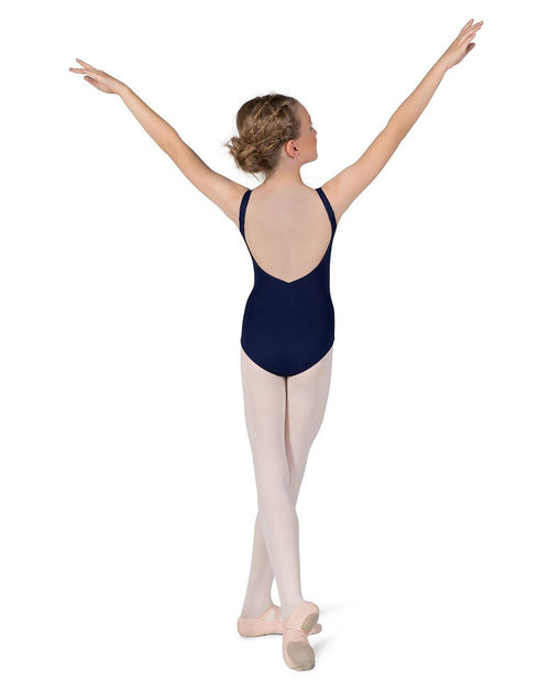 navy blue leotard