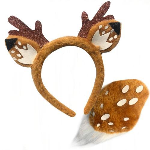 Deer Headband & Tail