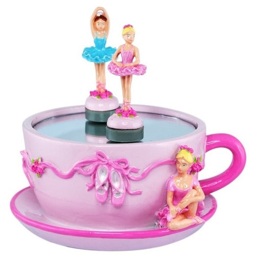 Music Ballerina Tea Cup