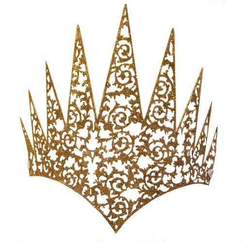 gold face crown