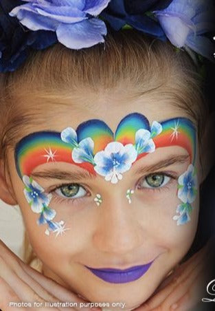 rainbow facepaint