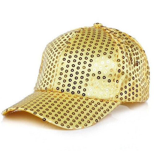 Sequin Cap - Gold  Dancewear Australia