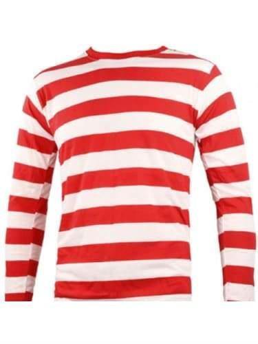 Wheres Wally? Striped Top (Adults)  Dancewear Australia