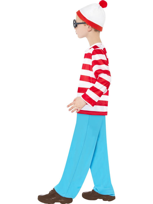 Where's Wally Childrens Costume Bookweek, halloween melbourne australia fancy dress party