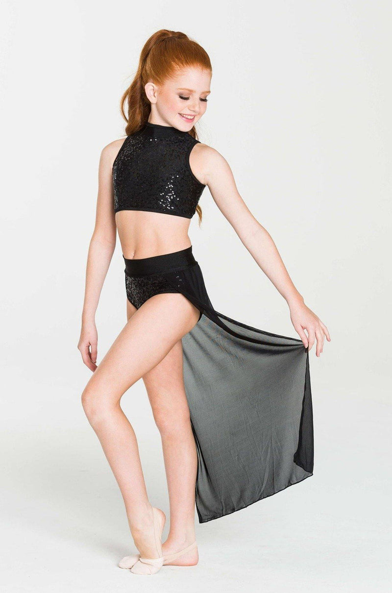 Sequin crop top studio 7 dancewear costumes