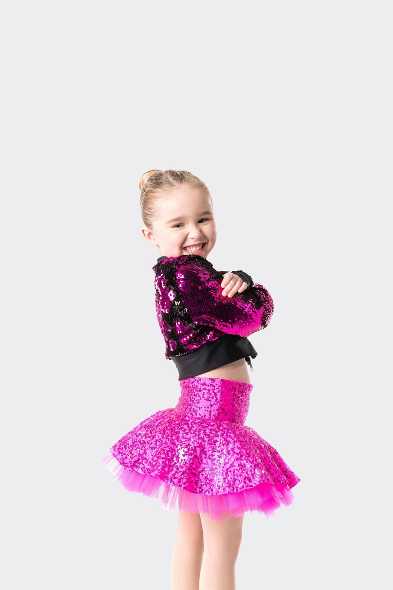 cropped sequin jacket dance costume studio 7 dancewear