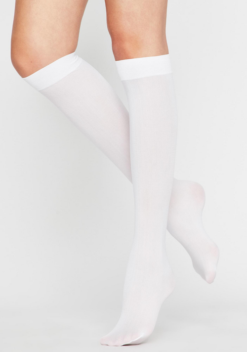 White Over Knee Stockings