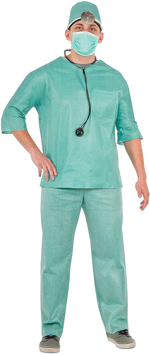 Doctor Scrubs Costume Set