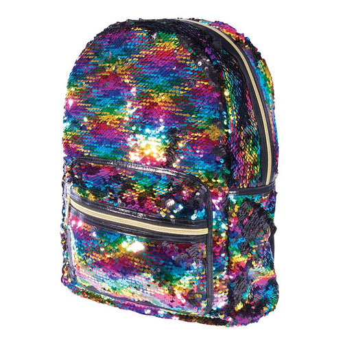 Reversible Sequin Backpack - Rainbow  Dancewear Australia dance bag girls