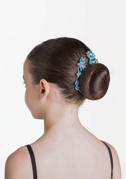 Aquamarine Hairpiece - Blue  Dancewear Australia