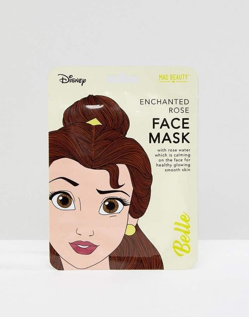 Disney Princess Belle Sheet Face Mask  Dancewear Australia