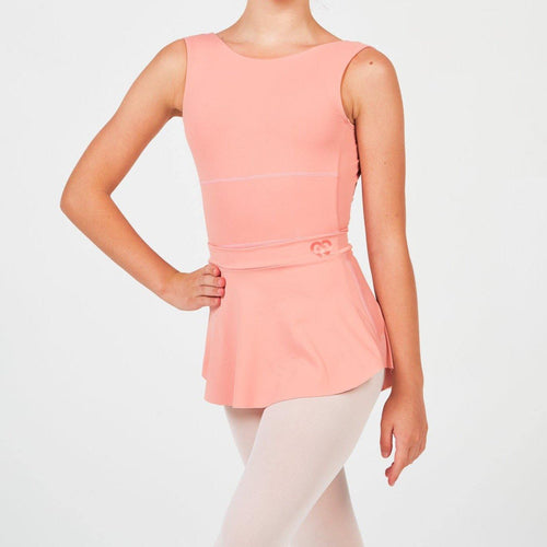 peach dancewear claudia dean ballet skirt