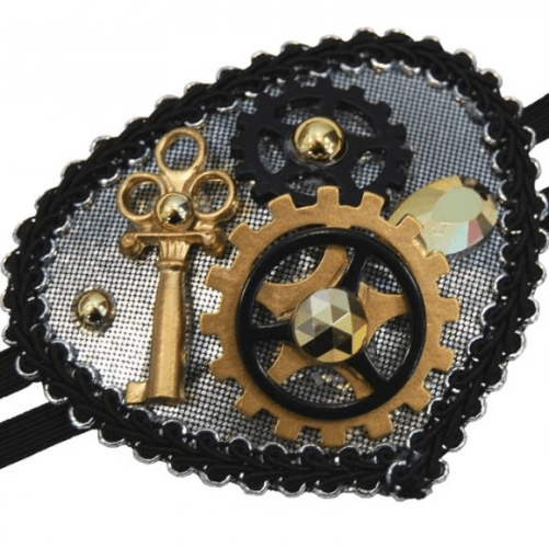 Eye Patch - steampunk  Dancewear Australia