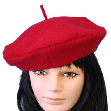 Beret - Red Wool Carnival Products  Dancewear Australia