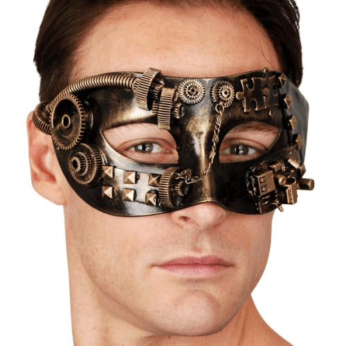Sinclair Steampunk Eye Mask  Dancewear Australia
