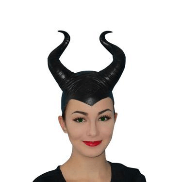 Maleficient Horns - Large Carnival Products  Dancewear Australia