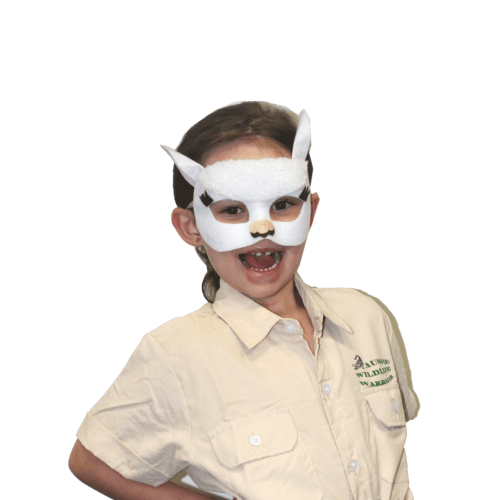 Llama Animal Mask & Tail  Dancewear Australia