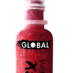 Global FX Face & Body Paint - Iridescent Red  Dancewear Australia