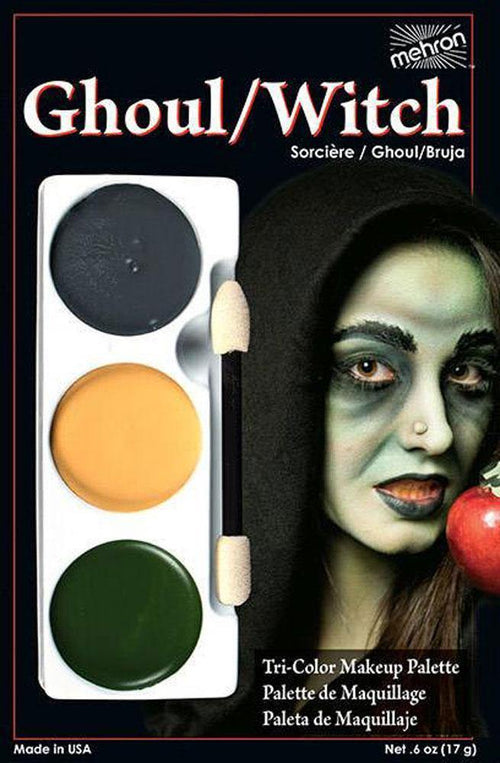 Tri-Colour Makeup Palette - Ghoul/Witch