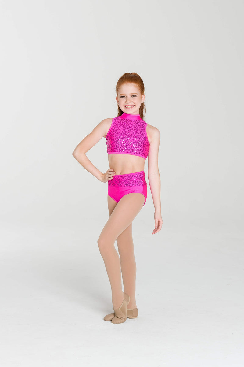 Sequin High Topped Briefs - Studio 7 Dancewear Costumes