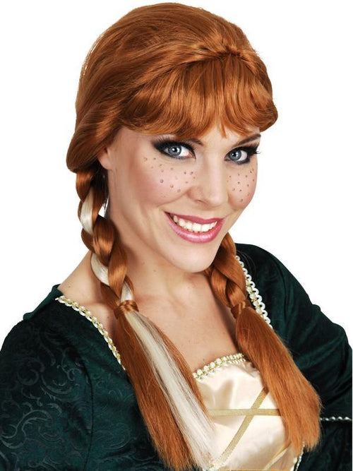 frozen wig Anna Fancy Dress